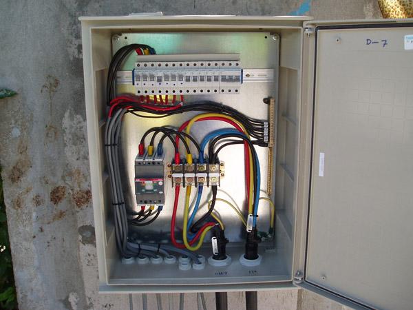 配电箱内汇流排图片 网络技术